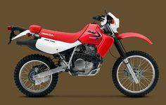 2014 XR650L Red