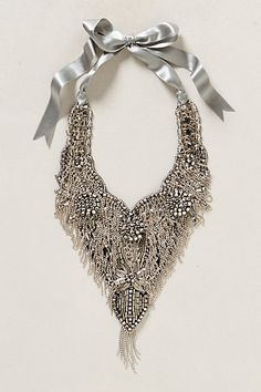 Jewel Frost Necklace #anthropologie