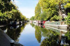 Little Venice, lovely place for sunday walk #LittleVenice #London #RegentsCanal