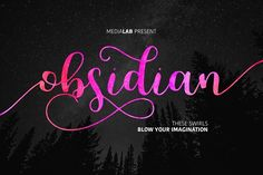 Obsidian (INTRO -30%) by MediaLab.Co on @creativemarket