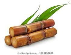 Sugar Cane Isolated On White Background Stock Photo (Edit Now) 1262179615 Fresh Sugar, Fruit Picture, Natural Background, Mousse Cake, Agriculture, Carrots, Cow, Photo Editing, Stock Photos