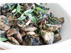 Nami-Nami retseptikogu :: Ürtidega praetud seened Sprouts, Green Beans, Vegetables, Recipes, Food, Cilantro, Essen, Vegetable Recipes, Eten