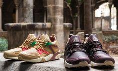 PUMA X LIMITEDITIONS – CREAM BLAZE OF GLORY PACK #puma #limiteditions #cream #blazeofglory #pack #sneakers #castanyada #kith