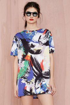 Line & Dot Atmosphere Knit Dress | Shop Dresses at Nasty Gal