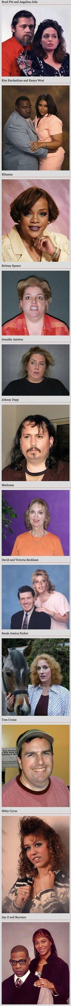 Celebrities as casual people, can't stop laughing ...
