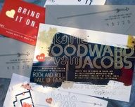 Katie + Ryan's Gold Foil Rock n' Roll Wedding Invitations | Design and Photo Credits: Primele