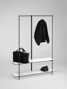 Hypercollection Will Outfit Your Open Workspace - Design Milk Garderobe Design, Espace Design, Clothing Store Design, Open Wardrobe, Retail Fixtures, Clothes Rail, Clothes Stand, Clothes Hanger, Rack Design