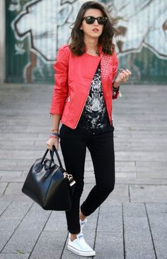 How to wear converse with business casual?