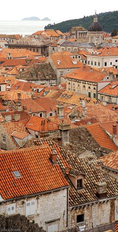 Dubrovnik Croatia by Jack Brauer - look at all those new roofs (red not brown) because of the war. Places Around The World, The Places Youll Go, Places To Visit, Around The Worlds, Dubrovnik Croatia, Croatia Travel, Wonderful Places, Beautiful Places, Mountain Photography