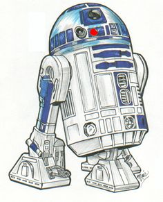 r2d2 drawing tutorial - Google Search