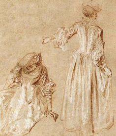 jean honoré fragonard studies of women