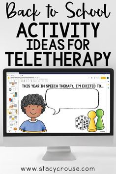 Speech Therapy Themes, Speech Therapy Activities, Speech Language Pathology, Language Activities, Speech And Language, School Ot, School Social Work, Get To Know You Activities, Back To School Activities