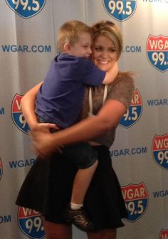 Lauren with one of her little fans. #LAradioTour