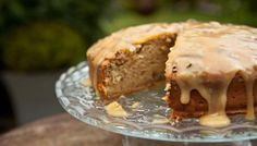 Banana and maple syrup cake with pecan nuts - James Martin Home Comforts BBC