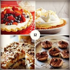 12 Delicious Pie Desserts for Pie Day on March 14! #FoodiebyGlam #spon