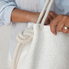 Bryce Crochet Bag crochet by Lakeside Loops