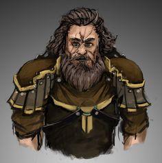 Portrait - Warrior 1 by HARuNIS.deviantart.com on @DeviantArt