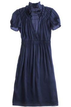Smock Neck Dress by jenna
