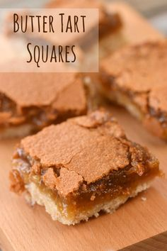 It's been five years since we posted our recipe for Butter Tart Squares. It's so good, we just had to dig it out of the archives to share with our readers. Recipe For Butter Tarts, Canadian Butter Tarts, Cookie Desserts, No Bake Desserts, Dessert Recipes, Tart Recipes, Baking Recipes, Butter Tart Squares, Classic Desserts