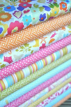 Modern Summer Baby Bedding Crib Set by modifiedtot on Etsy, $225.00
