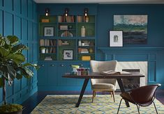 Say Hello To Oceanside A Dreamy Blue Paint Color Thats Making Waves In Interior Design