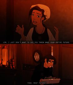Treasure Planet, one of the most forgotten and awesome movies.