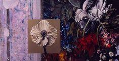 """""""White Poppy with Fresco"""""""