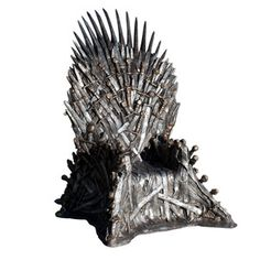 This is something you can get for $30,000 : The Iron Throne Lifesize Replica.