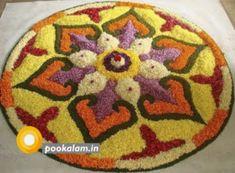 Latest Flower Rangoli Designs Images, Wallpaper, Video for This Diwali North Indian Rangoli Designs, Colorful Rangoli Designs, Rangoli Designs Diwali, Diwali Rangoli, Rangoli Designs Images, Beautiful Rangoli Designs, Diwali Diy, Mehndi Designs, Diwali Craft