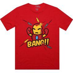 Tokidoki Marvel Iron man tshirt