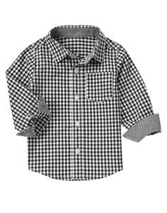 Gingham Shirt at Crazy 8 (Crazy 8 6m-5T)