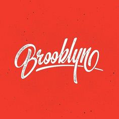 Where Brooklyn at? Some incredible letter forms in this type by @douggraphics | #typegang - typegang.com | typegang.com #typegang #typography