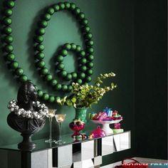 Ideas originales para decorar con bolas de Navidad | Decoración Hogar, Ideas y Cosas Bonitas para Decorar el Hogar