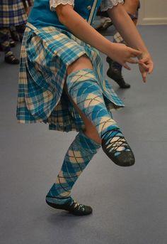 Kilt from the waist down #macpherson #turquoise #tartan