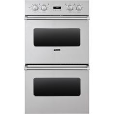 Buy the Viking Stainless Steel Direct. Shop for the Viking Stainless Steel 30 Inch Wide Cu. Double Electric Oven with Vari-Speed™ Dual Flow Convection and save. Four A Convection, Convection Cooking, Viking Appliances, Kitchen Appliances, Kitchens, Electric Wall Oven, Viking Range, Stainless Steel Oven, Best Build