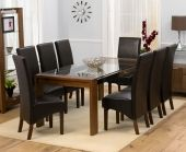Modern Dining Room Tables and Chairs for Minimalist Appearance: Elegant Dining Room Table And Chairs Wooden Floor White Interior ~ SQUAR ESTATE Dining Room Inspiration Cheap Dining Tables, Dining Chairs Uk, Glass Top Dining Table, Modern Dining Room Tables, Leather Dining Room Chairs, Elegant Dining Room, Dining Decor, Dining Room Design, Dining Room Furniture