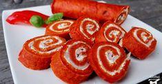 Była już rolada szpinakowa z łososiem  teraz przyszedł czas na pomidorową roladę z szynką! Jest to alternatywa dla osób, które nie lu...