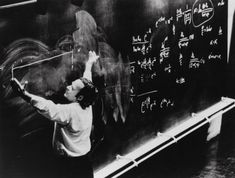 """""""Einstein was a giant. His head was in the clouds, but his feet were on the ground. Those of us who are not so tall have to choose."""" /Richard Feynman/"""