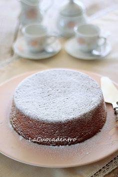 Torta alla ricotta e cioccolato bianco - La Cuoca Dentro