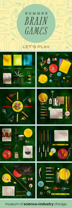 Make your own toys this summer with Summer Brain Games! Check out our website for instructions on nine FREE, easy, at-home, DIY science activities. Cool Science Experiments, Brain Games, Science Activities, Summer Science, Science For Kids, Science Nature, Hands On Activities, Lesson Plans, Make Your Own