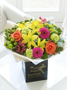 Vibrant Hand-tied - Interflora to go with my vibrant mum! #MyInterfloraMum