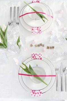 Un vent de poésie souffle sur cette table romantique