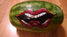 Watermelon art by CourtnieS