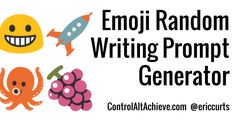 """In an earlier blog post, I shared a """" Google Sheets Writing Prompt Generator """" that randomly combined nouns and adjectives to give student..."""