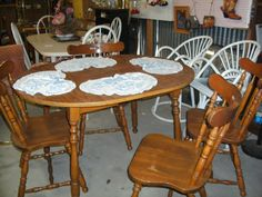 Dinning table in Cajun_Junktiques' Garage Sale in Leesville , LA for $129.00. Wooden dinning table and 4 chairs. This item is purchaser pickup only.