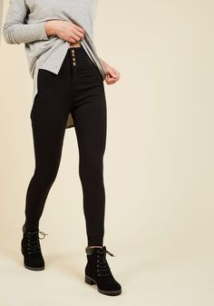 What's the Stretch? Ponte Pants, #ModCloth
