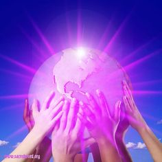 The Violet Flame can help propel the world into a golden age of spiritual and scientific advancement. And as more and more people begin giving Violet Flame the vision will increasingly become a reality!