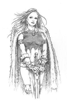 Valkyrie Maiden by MitchFoust.deviantart.com on @DeviantArt
