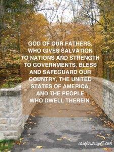 God Bless America - Military Prayer
