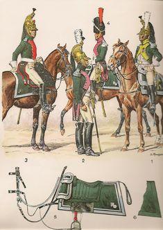SOLDIERS- Rousselot: NAP- France: Dragons 1804-1815 (pl 25) 1